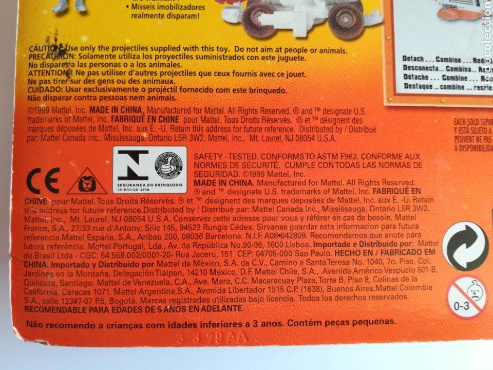 Slot Cars: Matchbox System Mega Rig Grupo del Espacio Space Team - Mattel Wheels - año 1999 - Aliens Universo - Foto 22 - 205681753