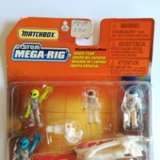 Slot Cars: MATCHBOX SYSTEM MEGA RIG GRUPO DEL ESPACIO SPACE TEAM - MATTEL WHEELS - AÑO 1999 - ALIENS UNIVERSO. Lote 205681753