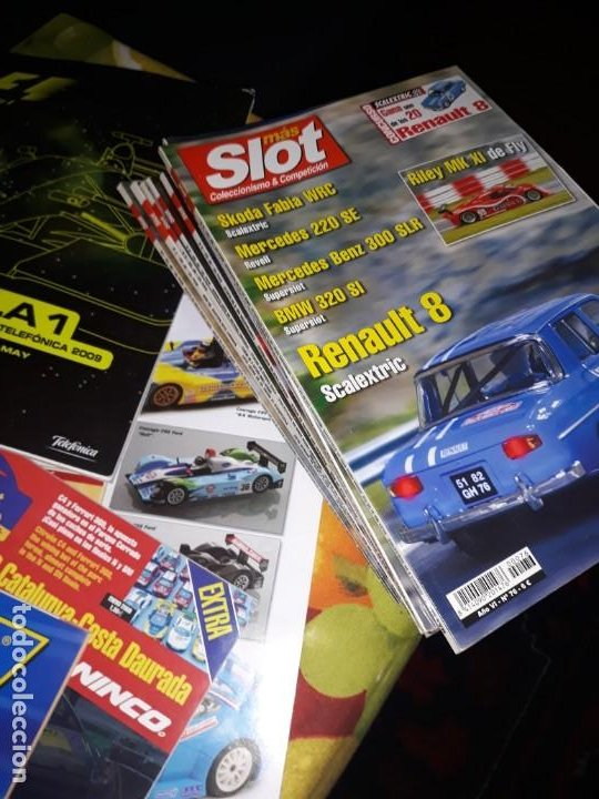 Slot Cars: 26 revistas scalextric - Foto 5 - 184869648