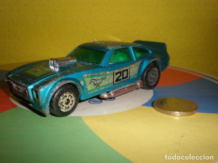 MATCHBOX,FORD MUSTANG II,K-60,LLEVANDO 30 EUROS ENVÍO CERT. GRATIS !!!!!!!!!!!!! (Juguetes - Slot Cars - Matchbox)