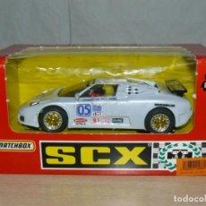 Slot Cars: SCALEXTRIC COCHE BUGGATTI EB110 IMSA REF. 83210 SLOT CAR EXON ALFREEDOM ESCALEXTRIC . Lote 198323632