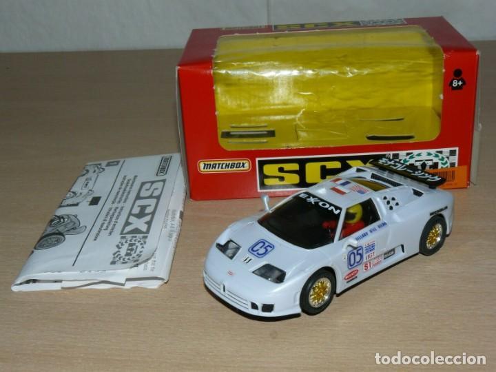 Slot Cars: Scalextric COCHE BUGGATTI EB110 IMSA Ref. 83210 slot car EXON alfreedom escalextric - Foto 2 - 198323632