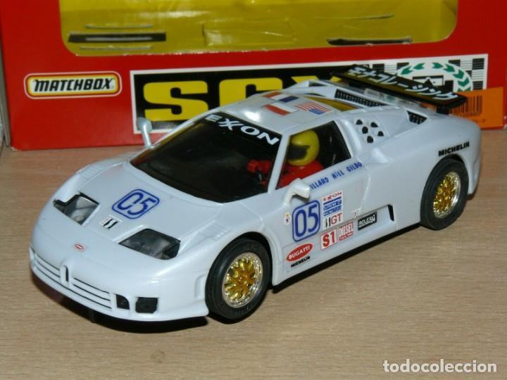 Slot Cars: Scalextric COCHE BUGGATTI EB110 IMSA Ref. 83210 slot car EXON alfreedom escalextric - Foto 3 - 198323632