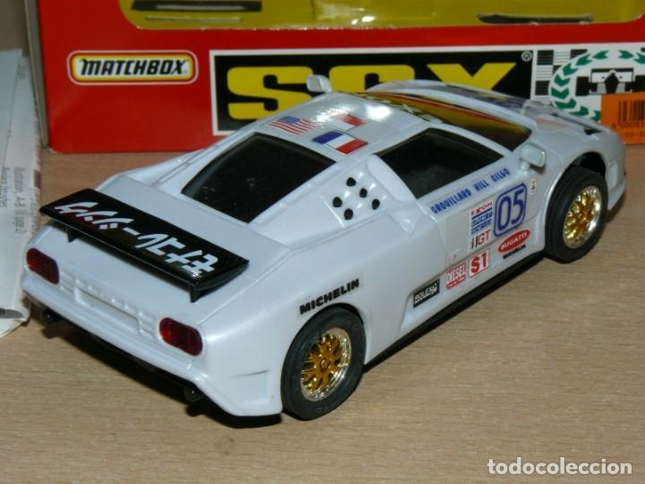 Slot Cars: Scalextric COCHE BUGGATTI EB110 IMSA Ref. 83210 slot car EXON alfreedom escalextric - Foto 4 - 198323632