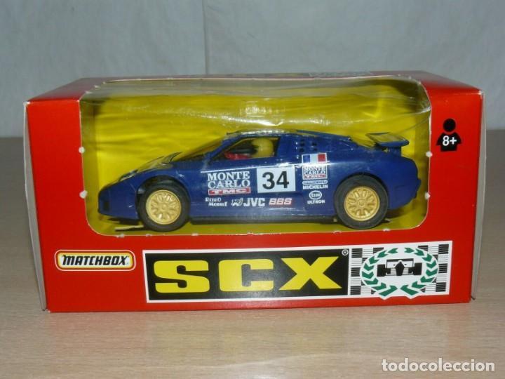 SCALEXTRIC BUGGATTI EB110 LE MANS REF 83860 MONTE CARLO AUTO HEBDO ESSO SLOT CAR COCHE ALFREEDOM (Juguetes - Slot Cars - Matchbox)