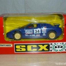 Slot Cars: SCALEXTRIC BUGGATTI EB110 LE MANS REF 83860 MONTE CARLO AUTO HEBDO ESSO SLOT CAR COCHE ALFREEDOM. Lote 198323953