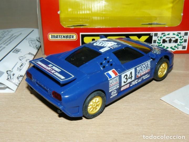 Slot Cars: Scalextric BUGGATTI EB110 Le Mans Ref 83860 Monte Carlo Auto Hebdo Esso slot car coche alfreedom - Foto 4 - 198323953