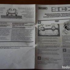 Slot Cars: INSTRUCIONES PORSCHE SCALEXTRIC MATCHBOX -1 EURO ENVIO-. Lote 202498558