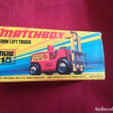 Slot Cars: MATCHBOX SUPERFLAST FORK LIFT TRUCK NEW15 1972 MADE IN ENGLAND. Lote 210767784