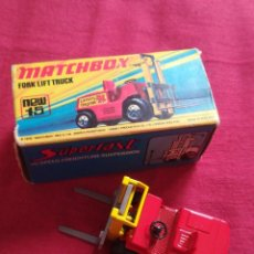 Slot Cars: MATCHBOX SUPERFLAST FORK LIFT TRUCK NEW15 1972 MADE IN ENGLAND. Lote 225101820