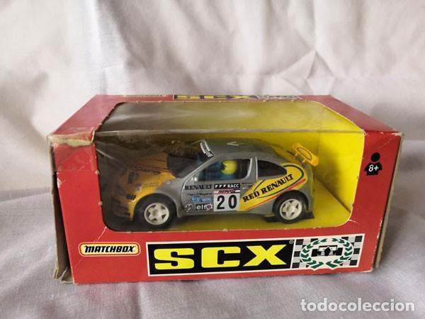 COCHE SCALEXTRIC, MATCHBOX , RENAULT MEGANE CON SU CAJA ORIGINAL (Juguetes - Slot Cars - Matchbox)