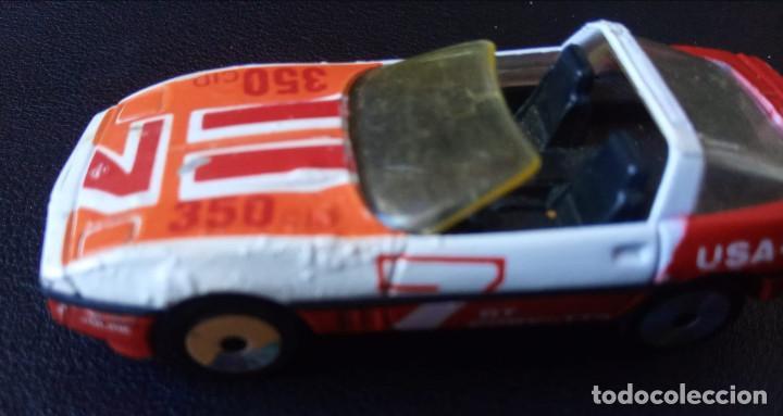 MATCHBOX - COCHE METÁLICO – CORVETTE GT - ESCALA 1:56 - 1984 - MADE IN MACAU (Juguetes - Slot Cars - Matchbox)