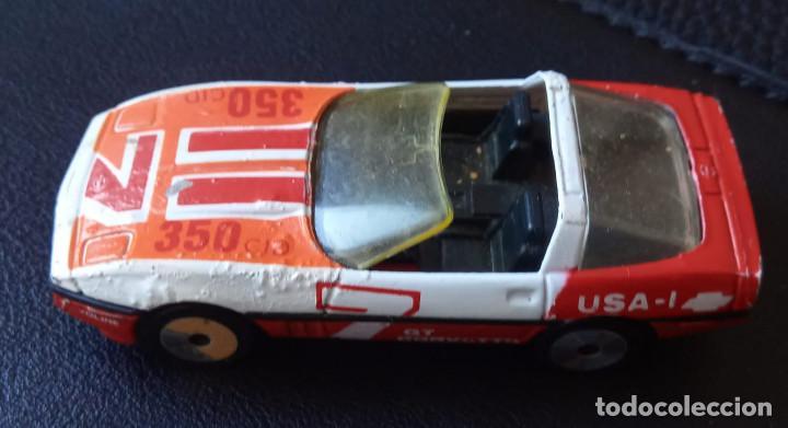 Slot Cars: Matchbox - Coche metálico – Corvette GT - Escala 1:56 - 1984 - Made in Macau - Foto 3 - 235986750