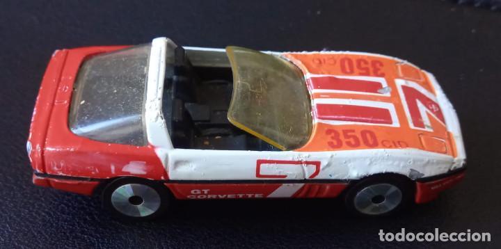 Slot Cars: Matchbox - Coche metálico – Corvette GT - Escala 1:56 - 1984 - Made in Macau - Foto 5 - 235986750