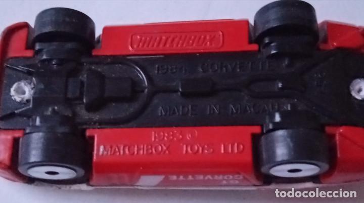 Slot Cars: Matchbox - Coche metálico – Corvette GT - Escala 1:56 - 1984 - Made in Macau - Foto 6 - 235986750