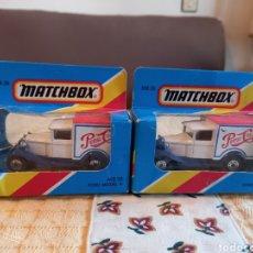Slot Cars: 2 COCHE ANTIGUOS METAL PEPSI COLA AÑO 1981. Lote 241477295