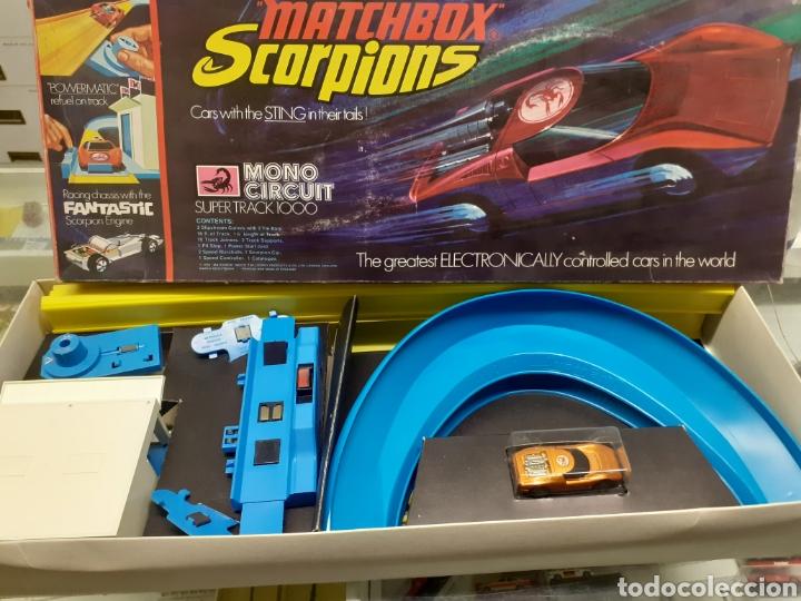 Slot Cars: Circuito matchbox scorpions nuevo - Foto 3 - 278351148