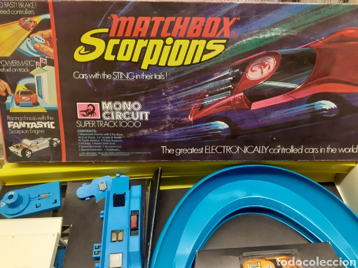 Slot Cars: Circuito matchbox scorpions nuevo - Foto 4 - 278351148