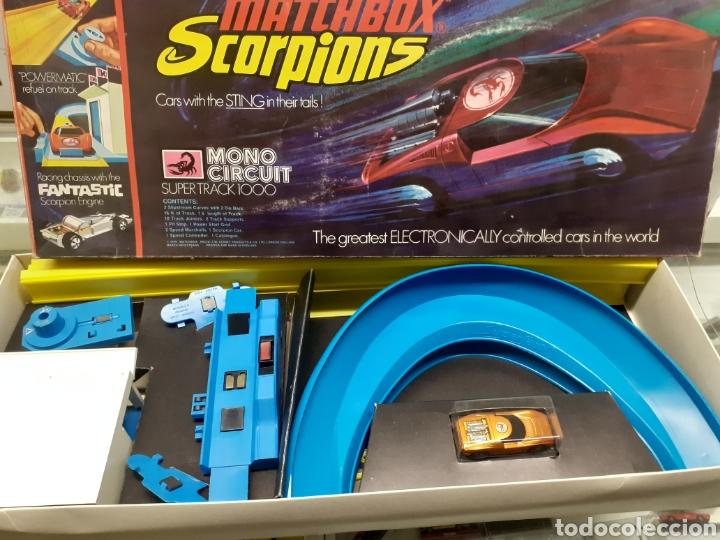 CIRCUITO MATCHBOX SCORPIONS NUEVO (Juguetes - Slot Cars - Matchbox)