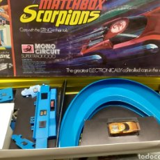Slot Cars: CIRCUITO MATCHBOX SCORPIONS NUEVO. Lote 278351148