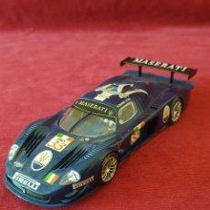Slot Cars: SCALEXTRIC SLOTCAR MASERATI MC12. Lote 289260543