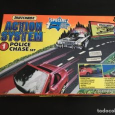 Slot Cars: VINTAGE MATCHBOX ACTION SYSTEM 1 POLICE CHASE. Lote 295395048