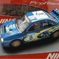 Slot Cars: NINCO 50328 SUBARU WRC PRORACE NEW ZEALAND . Lote 27705465