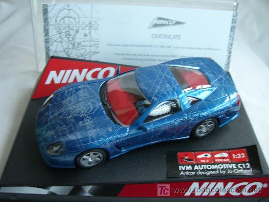 NINCO 50248 CALLAWAY IVM C12 ARTCAR (Juguetes - Slot Cars - Ninco)