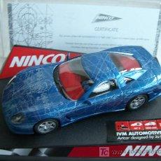 Slot Cars: NINCO 50248 CALLAWAY IVM C12 ARTCAR . Lote 4594226
