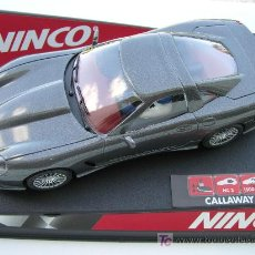 Slot Cars: NINCO 50233 CALLAWAY C12 ROAD CAR ANTHRACITE. Lote 4803458