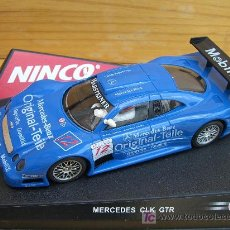 Slot Cars: NINCO 50174 MERCEDES CLK ORIGINAL TEILE. Lote 7350167