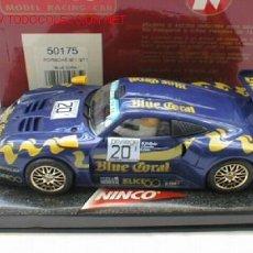 Slot Cars: NINCO 50175 PORSCHE 911 GTI BLUE CORAL . Lote 7421122