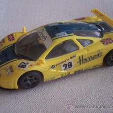 Slot Cars: MCLAREN GTR HARRODS NINCO. IMPECABLE ESTADO.. Lote 26938028