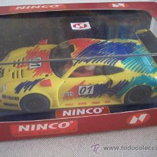 Slot Cars: PORSCHE 911 GT1 ROHR NINCO. NUEVO SIN ESTRENAR.. Lote 27208117