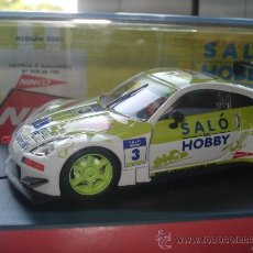 Slot Cars: SALÓ DEL HOBBY BCN 2006 NINCO NISSAN 350Z. Lote 15017272
