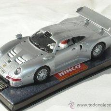 "Slot Cars: PORSCHE 911 GT1 ""ROADCAR"" REF. 50148, PLATA NINCO FABRICADO POR NINCO. Lote 16643591"