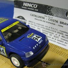 Slot Cars: RENAULT CLIO RAC 94 - VERSION CALLE- -. Lote 27291546