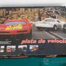 Slot Cars: PISTA DE VELOCIDAD. Lote 28269819