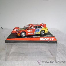 Slot Cars: MITSUBISHI LANCER WRC RACC'05 OFFICIAL RALLY DRIVER. Lote 31135134