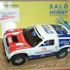 Slot Cars: VOLKSWAGEN TOUAREG ED LIM SALÓN DEL HOBBY 2005. Lote 31136610