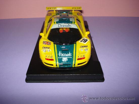 Slot Cars: NINCO 50130 McLAREN F1 GTR HARRODS de 1996. - Foto 4 - 31660043