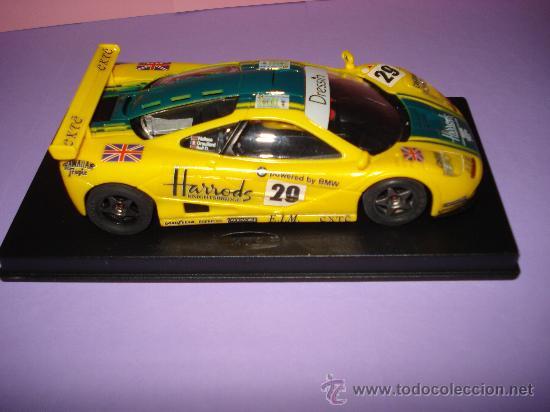Slot Cars: NINCO 50130 McLAREN F1 GTR HARRODS de 1996. - Foto 6 - 31660043