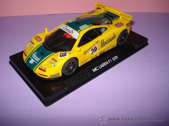 NINCO 50130 MCLAREN F1 GTR HARRODS DE 1996. (Juguetes - Slot Cars - Ninco)