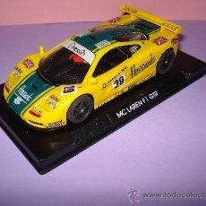 Slot Cars: NINCO 50130 MCLAREN F1 GTR HARRODS DE 1996.. Lote 31660043