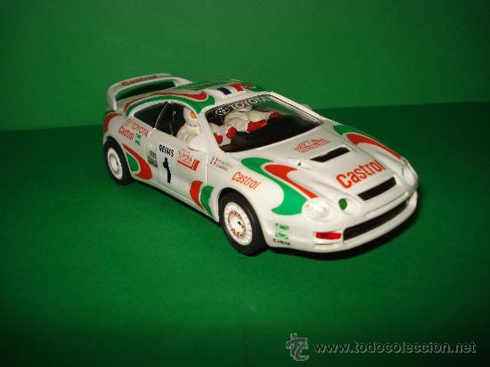 Slot Cars: NINCO 50109 TOYOTA CELICA GT-Four CASTROL . Año 1995. - Foto 3 - 31695119