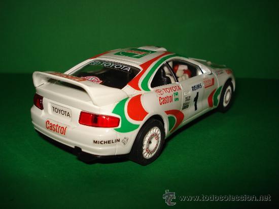 Slot Cars: NINCO 50109 TOYOTA CELICA GT-Four CASTROL . Año 1995. - Foto 6 - 31695119