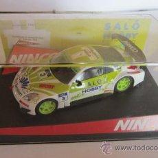 Slot Cars: COCHE NINCO. NISSAN 350Z, SALON DEL HOBBY, EN CAJA. CC. Lote 31750667