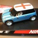 Slot Cars: MINI COOPER FLAG SERIES ENGLAND. Lote 32469217