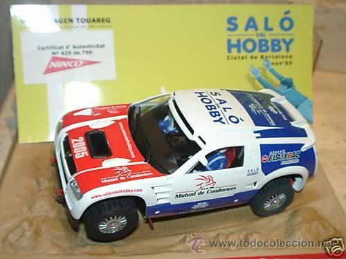 VOLKSWAGEN TOUAREG ED LIM SALÓN DEL HOBBY 2005 (Juguetes - Slot Cars - Ninco)