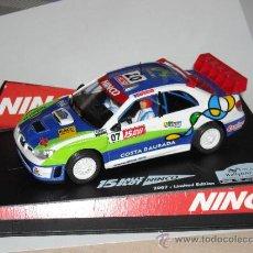 Slot Cars: SUBARU WRC COSTA DAURADA 2007 EDICION LIMITADA. Lote 34499737